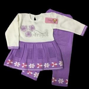 """костюм детский вязаный """"Ангел"""" 1,5-2 года"""